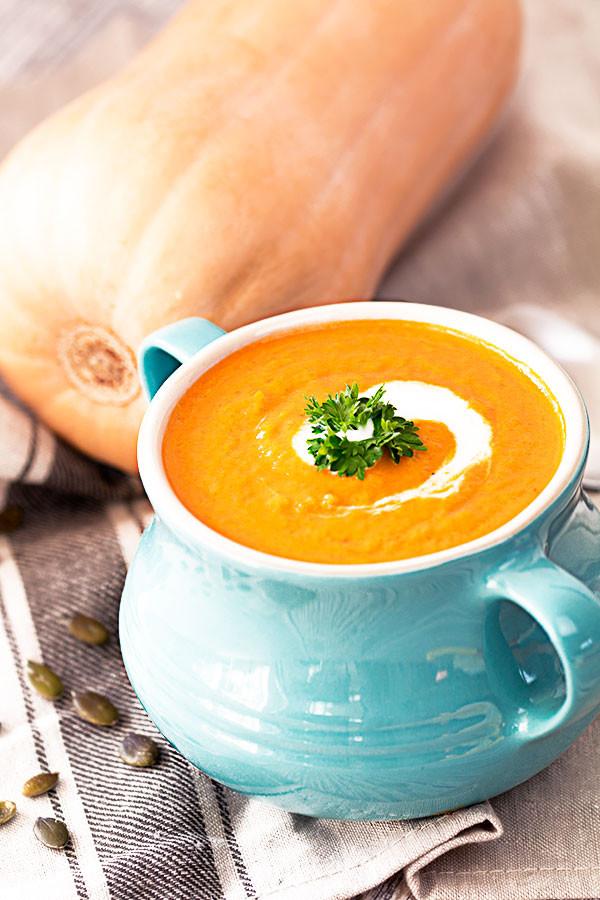 Healthy Coconut Milk Recipes  Easy Pumpkin Soup With Coconut Milk Recipe The Healthy Tart