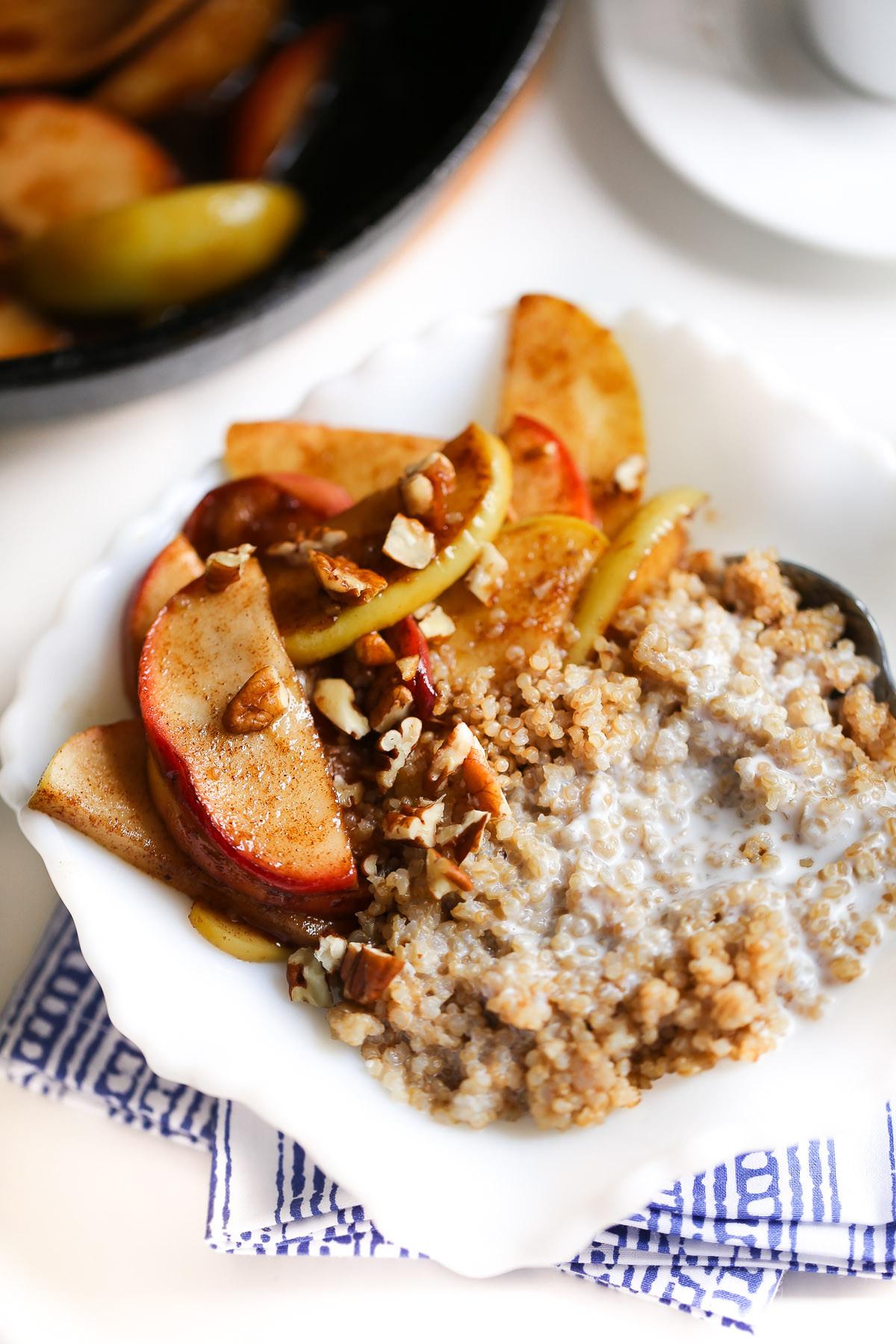 Healthy Coconut Milk Recipes  Healthy Breakfast Quinoa with Coconut Milk and Apples