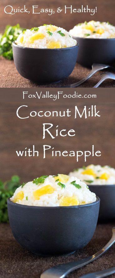 Healthy Coconut Milk Recipes  25 Best Ideas about Coconut Milk on Pinterest