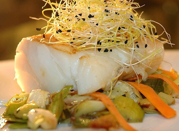 Healthy Cod Fish Recipes  Cod Fish Fillets With Leek Sprouts Recipe – Cod Fish