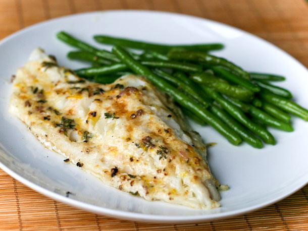 Healthy Cod Fish Recipes  Dinner Tonight Broiled Cod with Lemon and Thyme Recipe
