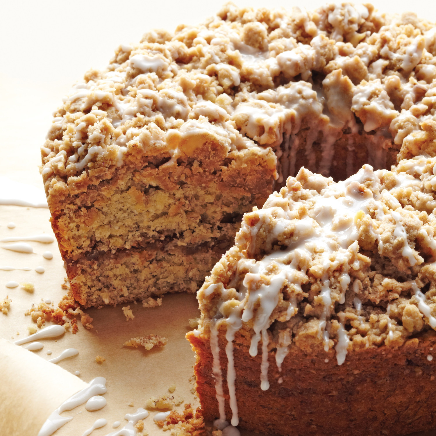 Healthy Coffee Cake  Cinnamon Streusel Coffee Cake Recipe