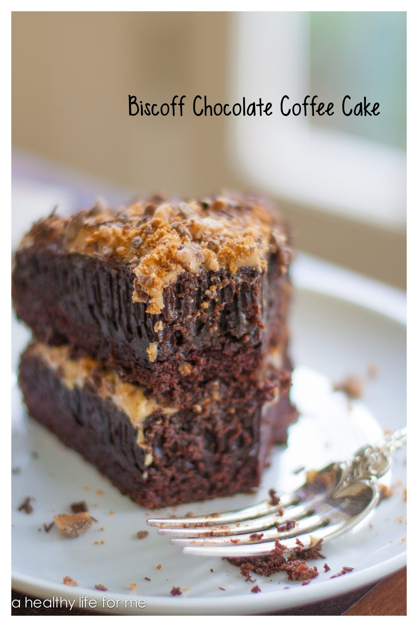 Healthy Coffee Cake  Biscoff Chocolate Coffee Cake A Healthy Life For Me
