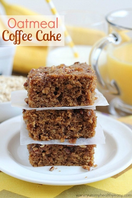 Healthy Coffee Cake  20 Delicious Breakfast & Brunch Recipes Yummy Healthy Easy