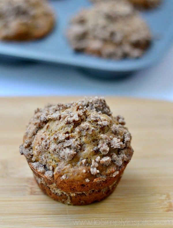 Healthy Coffee Cake  Healthy Coffee Cake Muffins To Simply Inspire