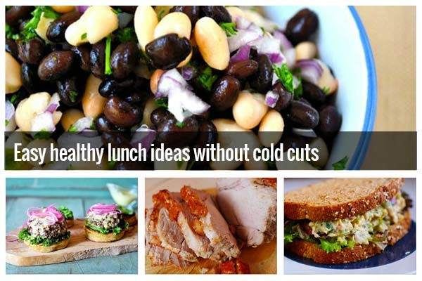Healthy Cold Lunches  Easy healthy lunch ideas for work without cold cuts