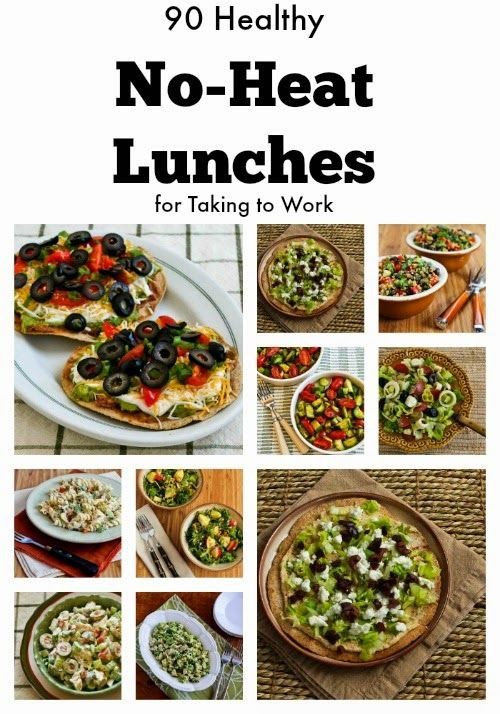 Healthy Cold Lunches  easy lunch ideas for work no microwave