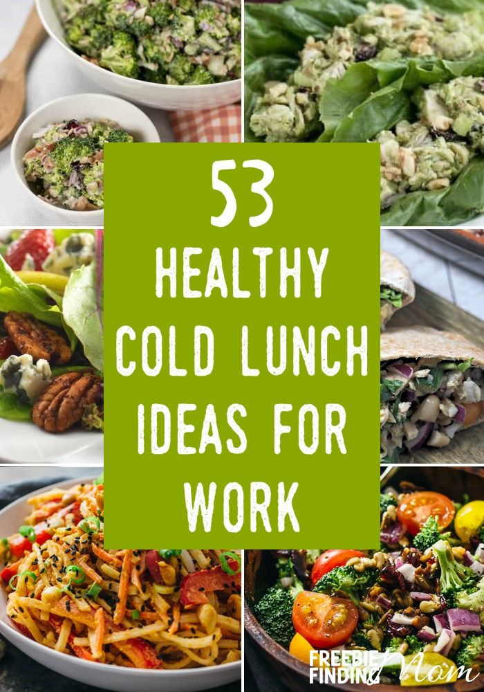 Healthy Cold Lunches  The 25 best Healthy cold lunches ideas on Pinterest