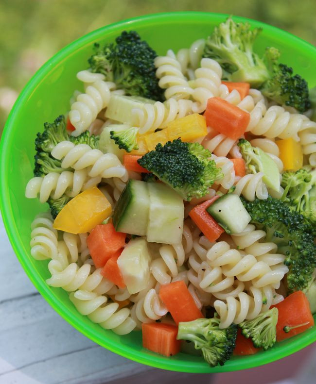 Healthy Cold Pasta Salad  Milk Free Mom Healthy Dairy Free Recipes & Products