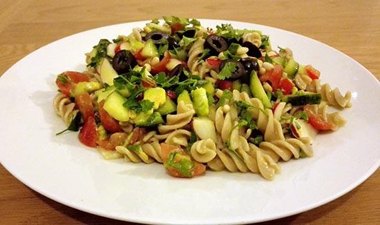 Healthy Cold Pasta Salad  Healthy Cold Pasta Salad Recipe