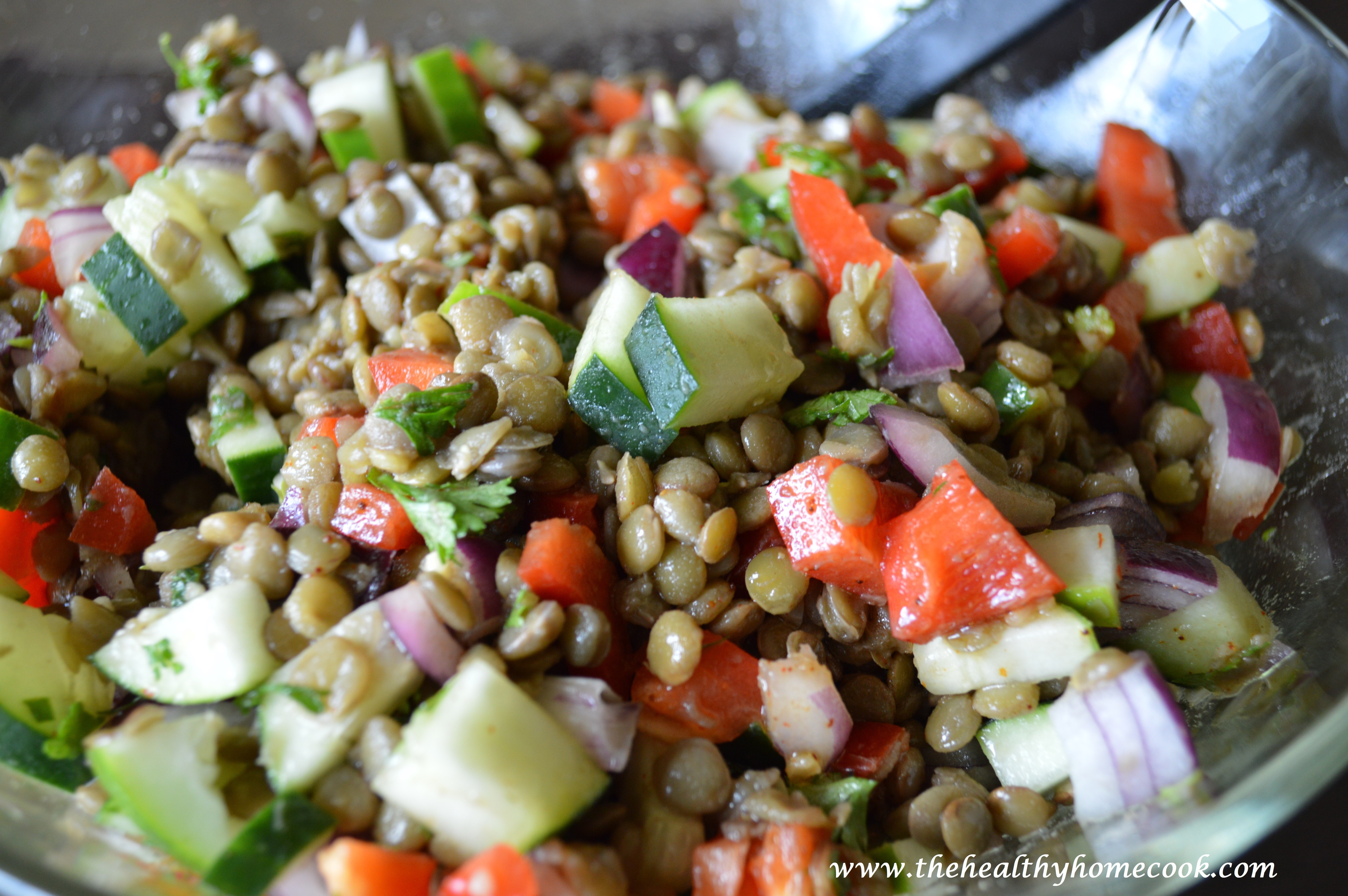 Healthy Cold Salads  Cold Lentil Salad – The Healthy Home Cook