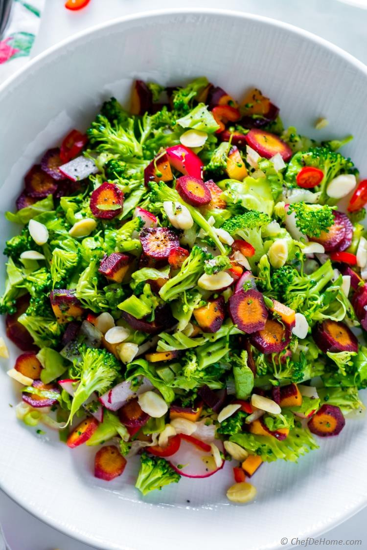 Healthy Cold Salads  Winter Detox Healthy Broccoli Salad Recipe
