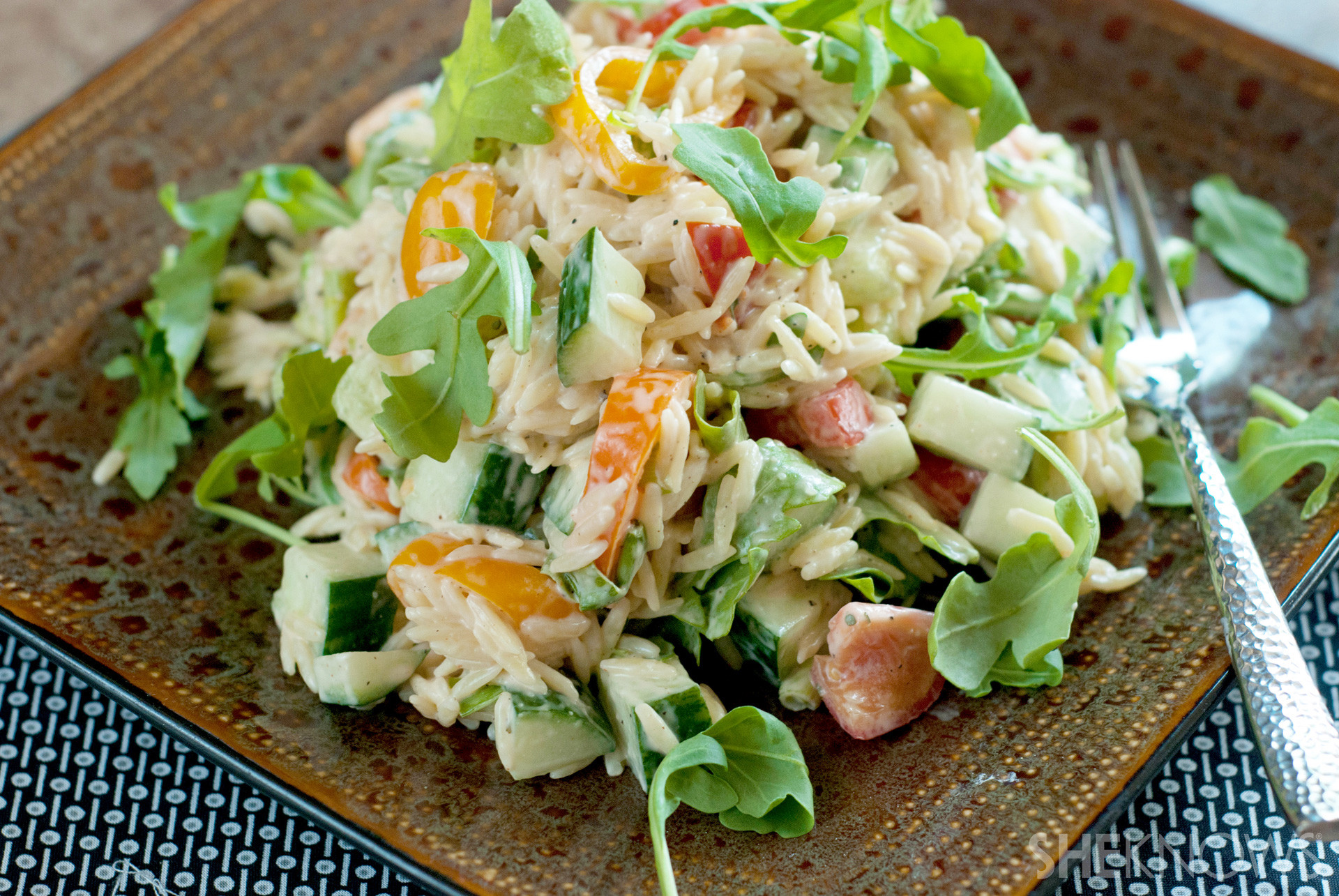 Healthy Cold Salads  Healthy end of summer pasta salad is your new go to