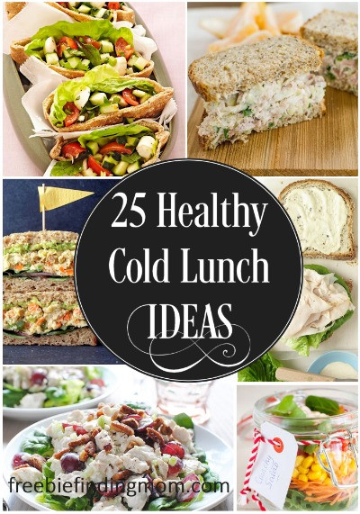 Healthy Cold Snacks  25 Delicious and Healthy Cold Lunch Ideas