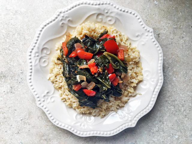 Healthy Collard Greens Recipe  Vegan Southern Recipes Healthy Collard Greens