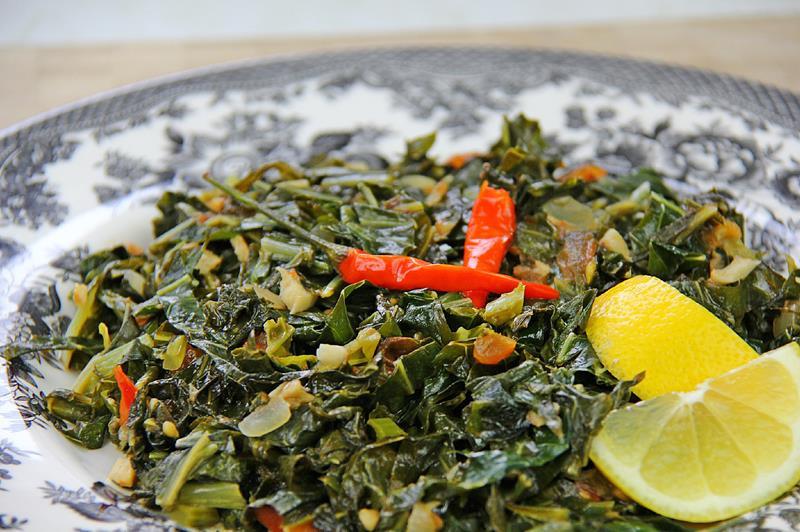 Healthy Collard Greens Recipe  easy collard greens recipe ve arian