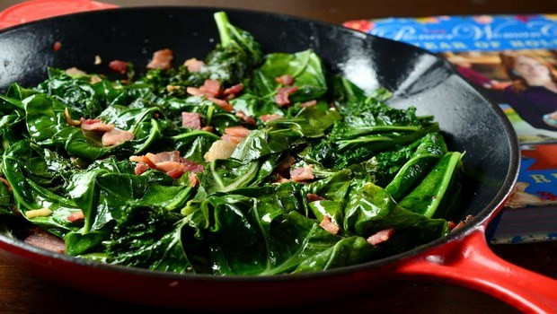Healthy Collard Greens Recipe  Ve able side dish recipes 22 easy and healthy dishes