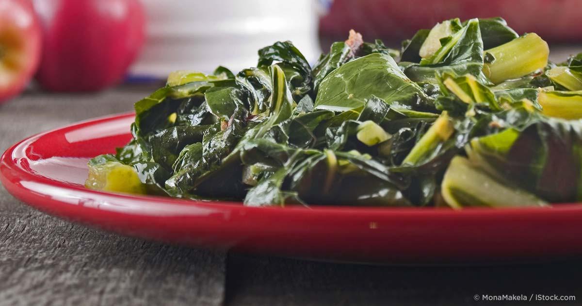 Healthy Collard Greens Recipe  5 Minute Healthy Collard Greens Recipe