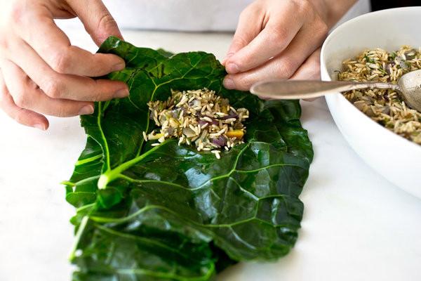 Healthy Collard Greens Recipe  Stuffed Collard Greens Recipe NYT Cooking