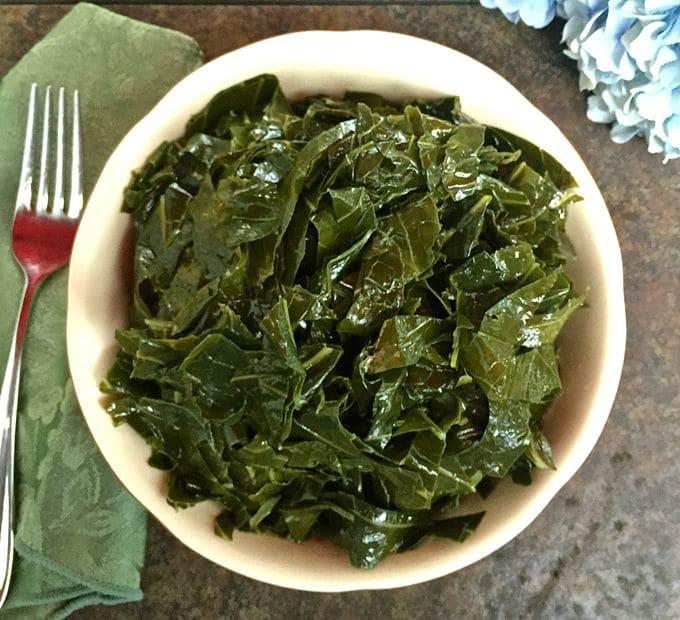 Healthy Collard Greens Recipe  Mary s Healthy Southern Collard Greens