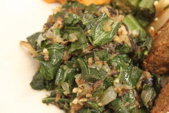 Healthy Collard Greens Recipe  Ve arian Healthy Collard Greens Recipe