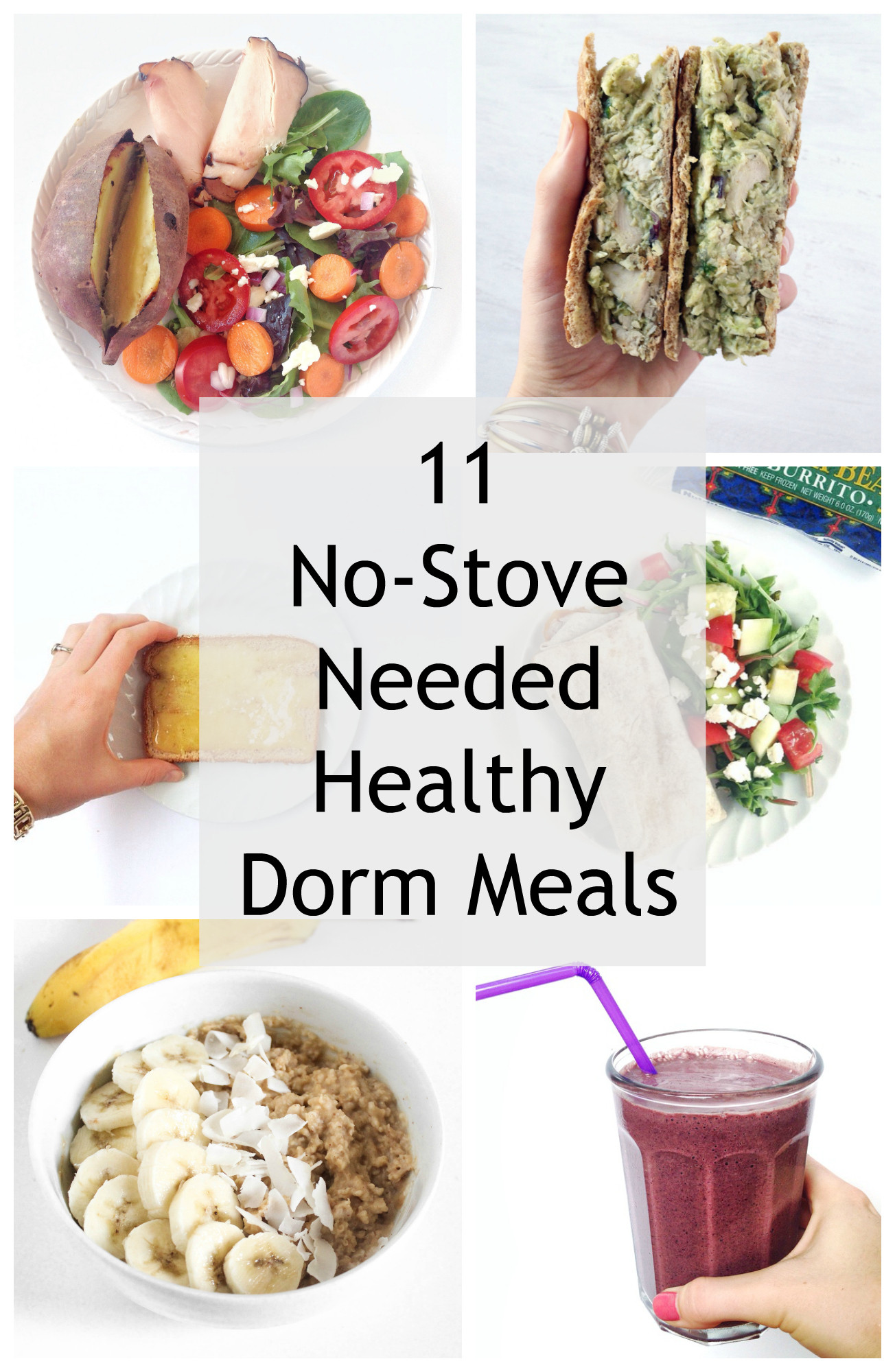 Healthy College Dinners  11 Simple Dorm Room Meals No Kitchen Needed Healthy Liv