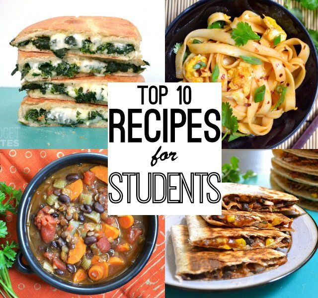 Healthy College Dinners  Best 25 College meal planning ideas on Pinterest