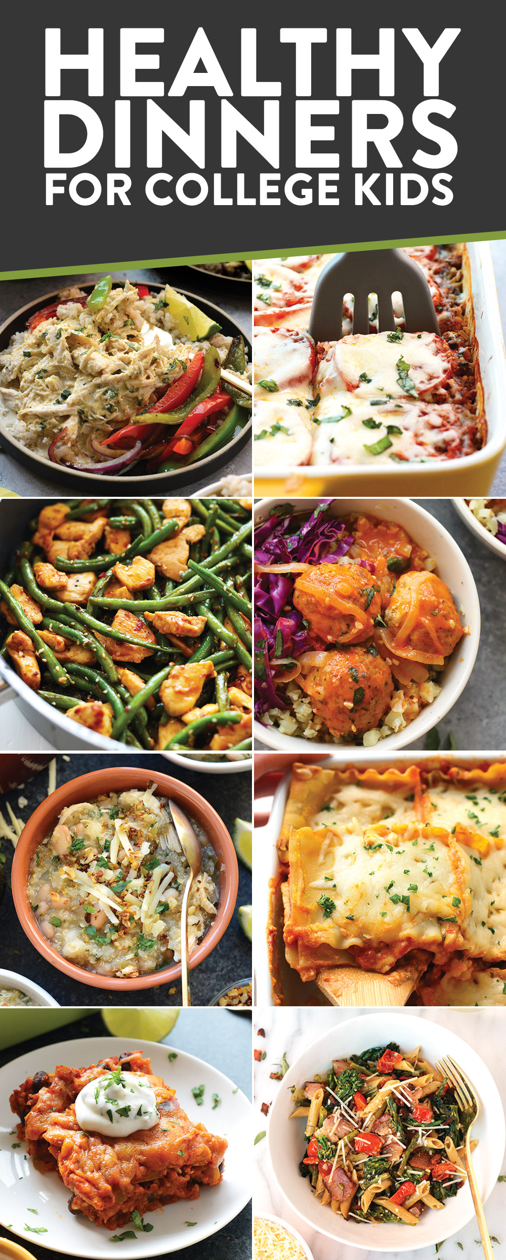 Healthy College Dinners  Best Healthy Recipes for College Kids Bud Friendly and