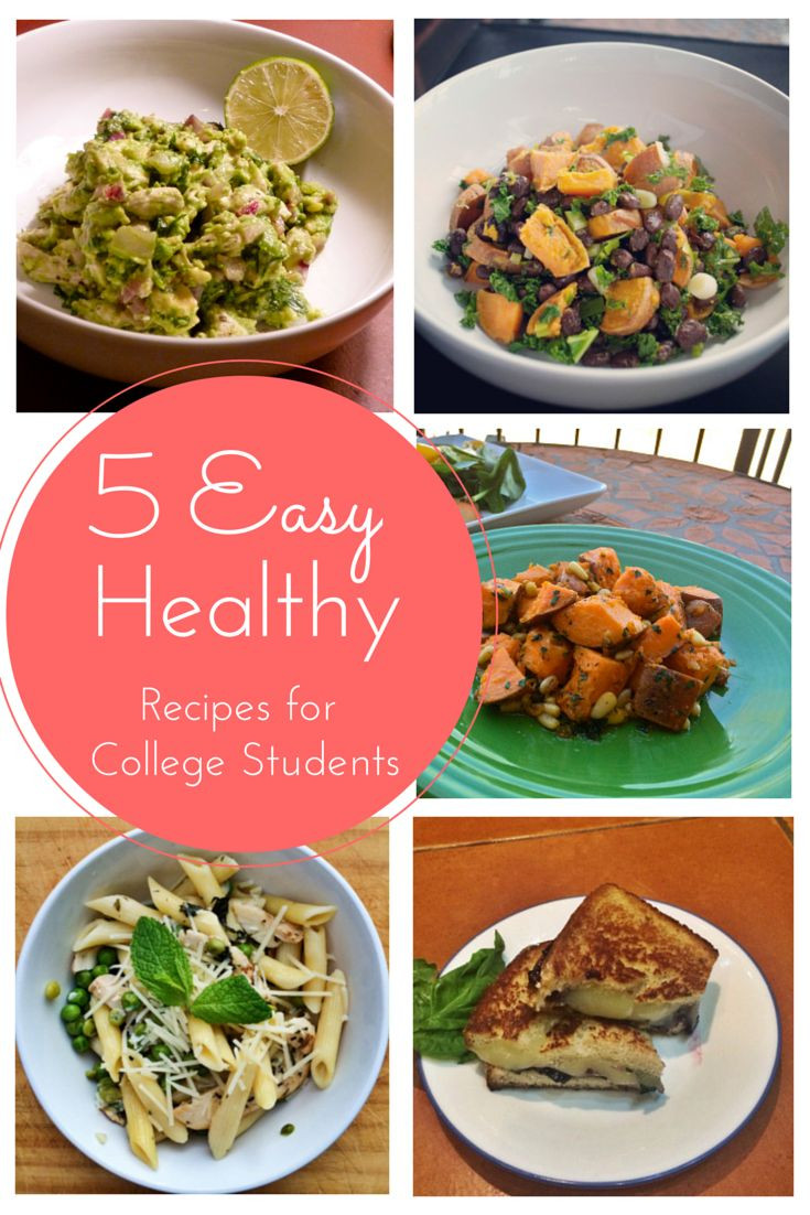 Healthy College Dinners  student meals
