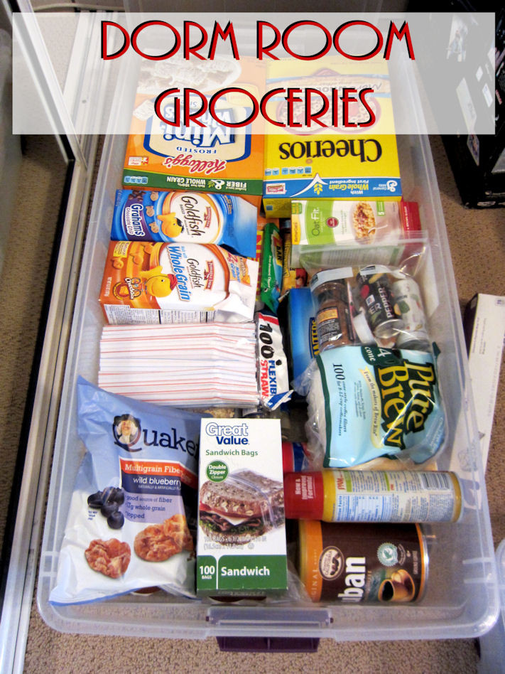 Healthy College Snacks For The Dorm  Packing for Dorm Life