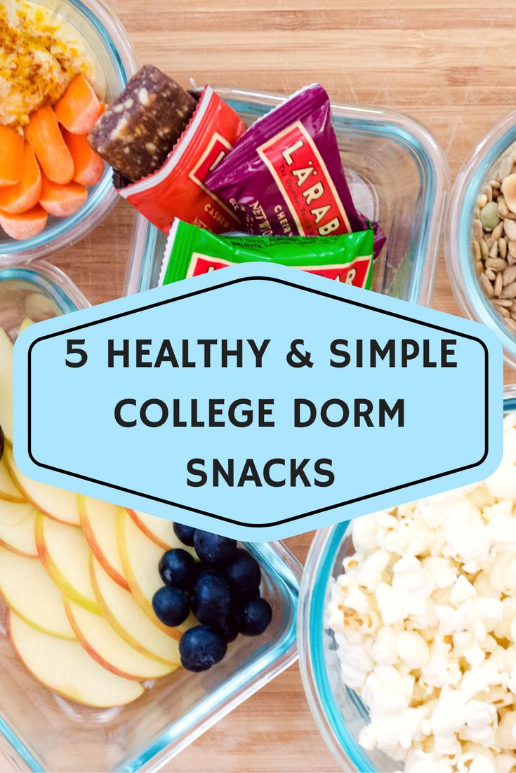 Healthy College Snacks For The Dorm  17 Best ideas about College Snacks on Pinterest