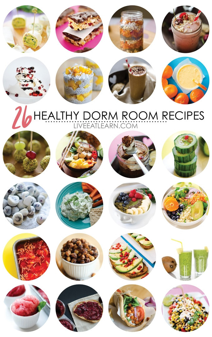 Healthy College Snacks For The Dorm  26 Healthy Dorm Room Recipes