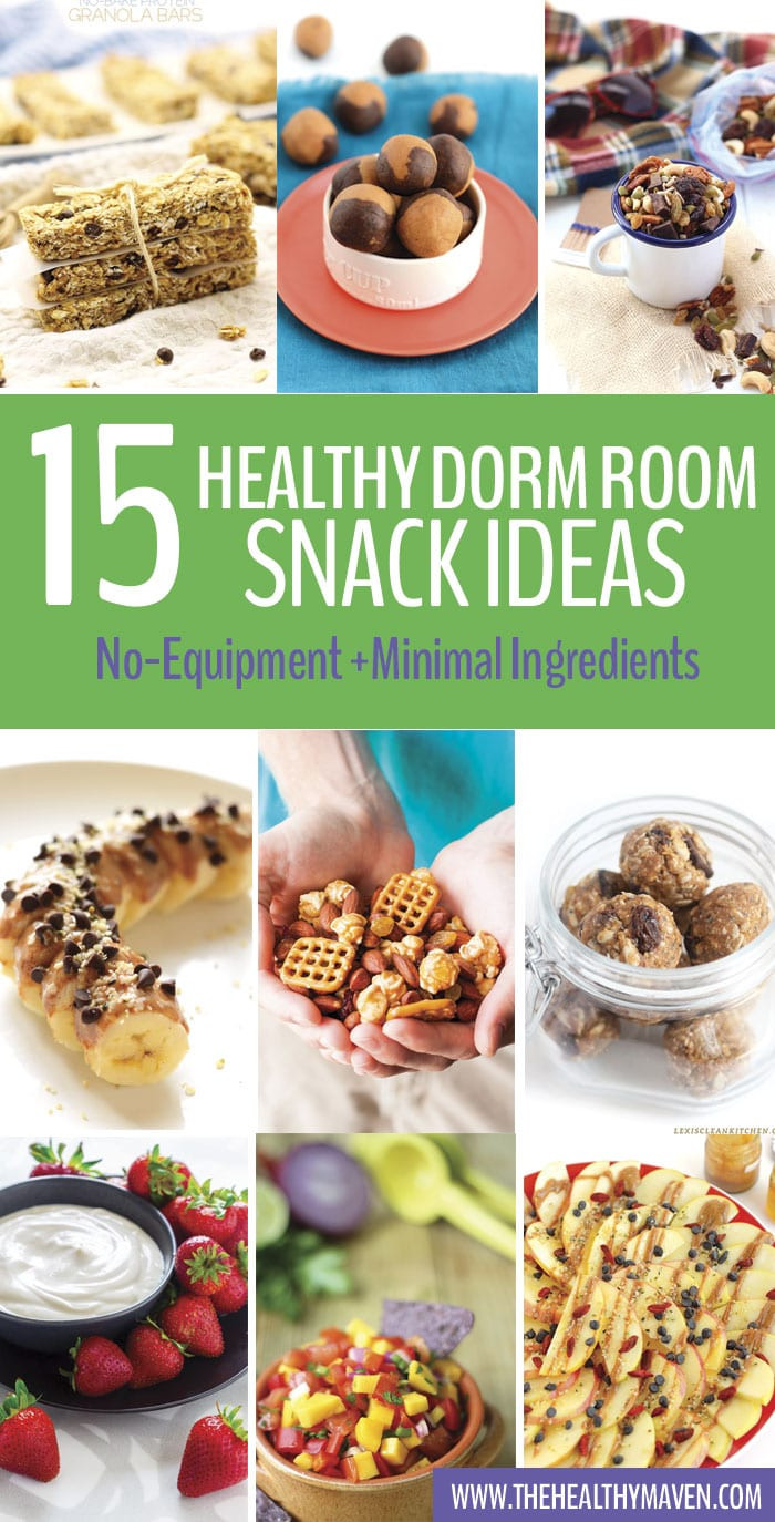 Healthy College Snacks For The Dorm  Healthy Dorm Room Snack Ideas The Healthy Maven