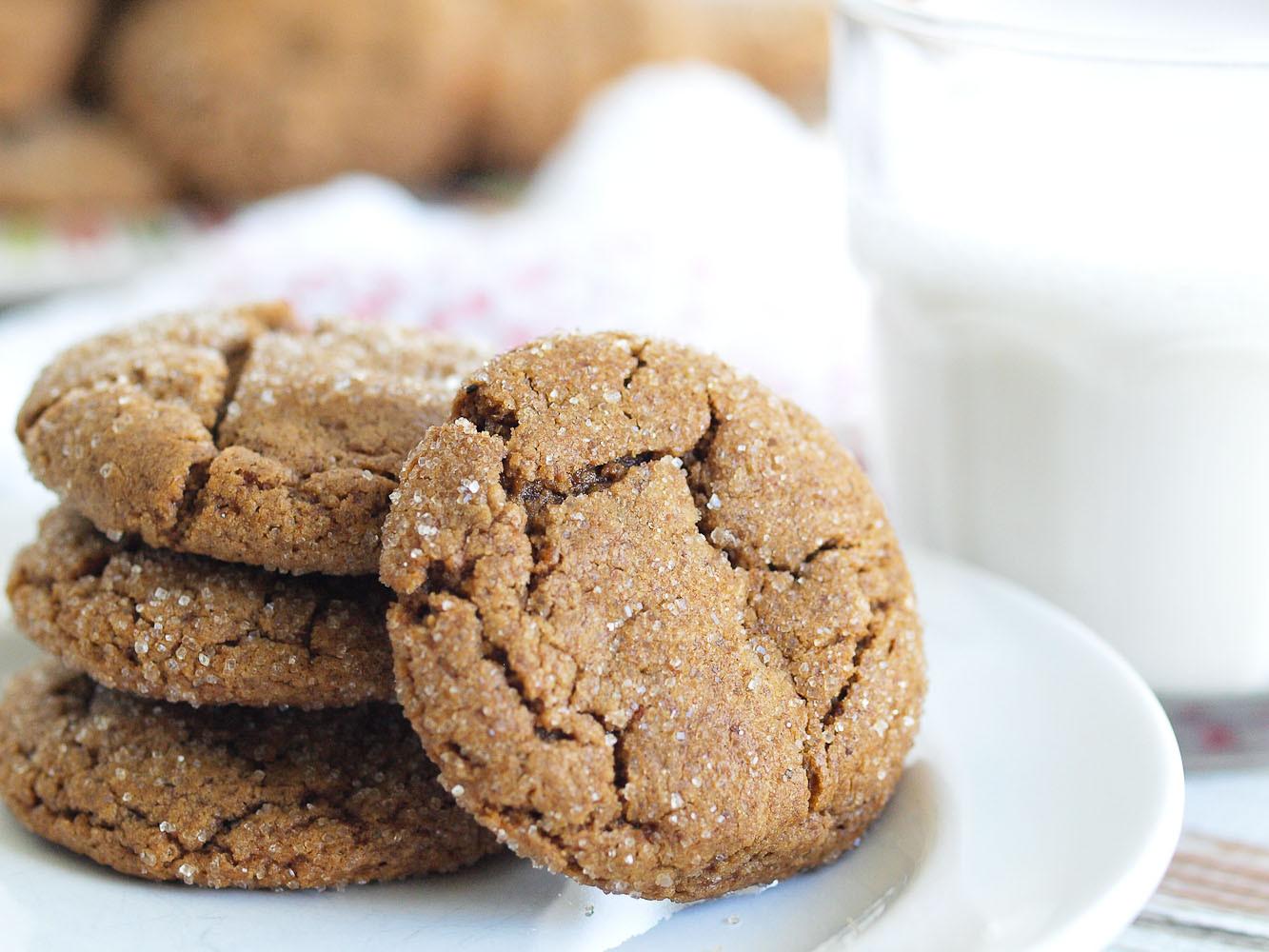 Healthy Cookies No Sugar  Healthy Ginger Cookies Happy Healthy Mama