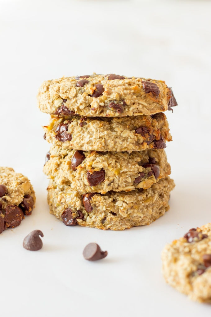 Healthy Cookies No Sugar  3 Ingre nt Banana Oatmeal Cookies e Clever Chef