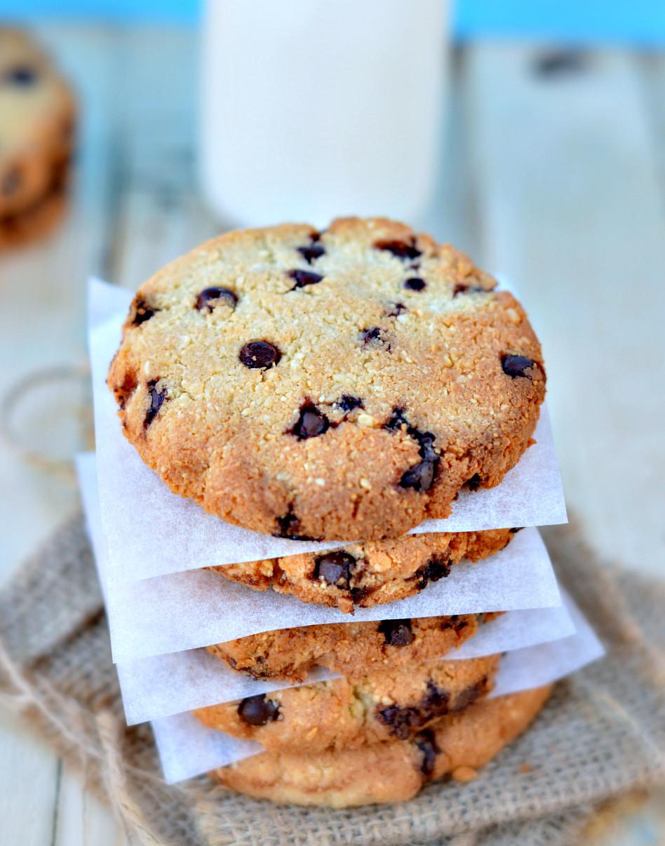 Healthy Cookies Recipe  Sugar free chocolate chip cookies