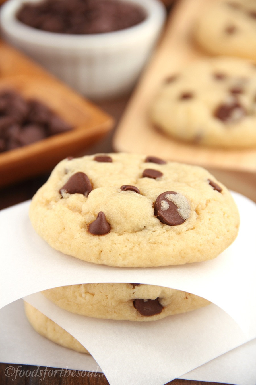Healthy Cookies Recipe Low Calorie  The Ultimate Healthy Soft & Chewy Chocolate Chip Cookies