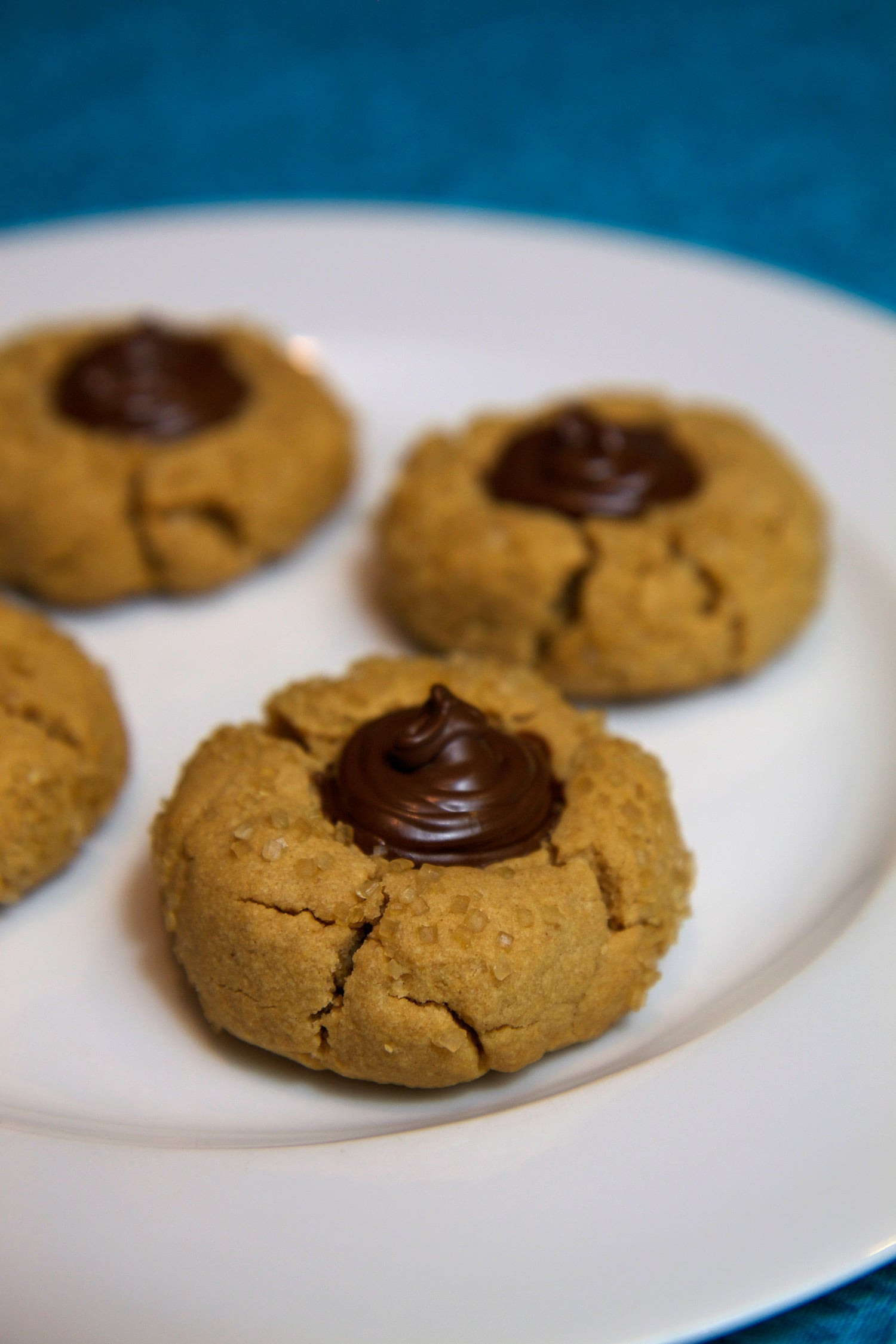 Healthy Cookies Recipe Low Calorie  Vegan Peanut Butter Kiss Cookie Recipe