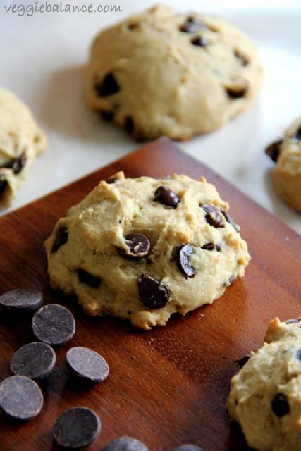 Healthy Cookies Recipe Low Calorie  Skinny Chocolate Chip Cookies Low Carb Vegan Gluten Free