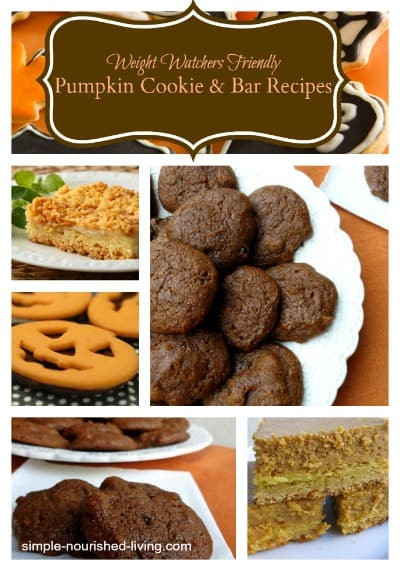 Healthy Cookies Recipe Low Calorie  11 Healthy Low Fat Pumpkin Cookie and Pumpkin Bar Recipes