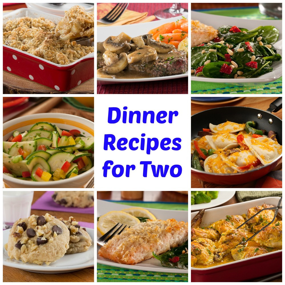 Healthy Cooking For Two  64 Easy Dinner Recipes for Two
