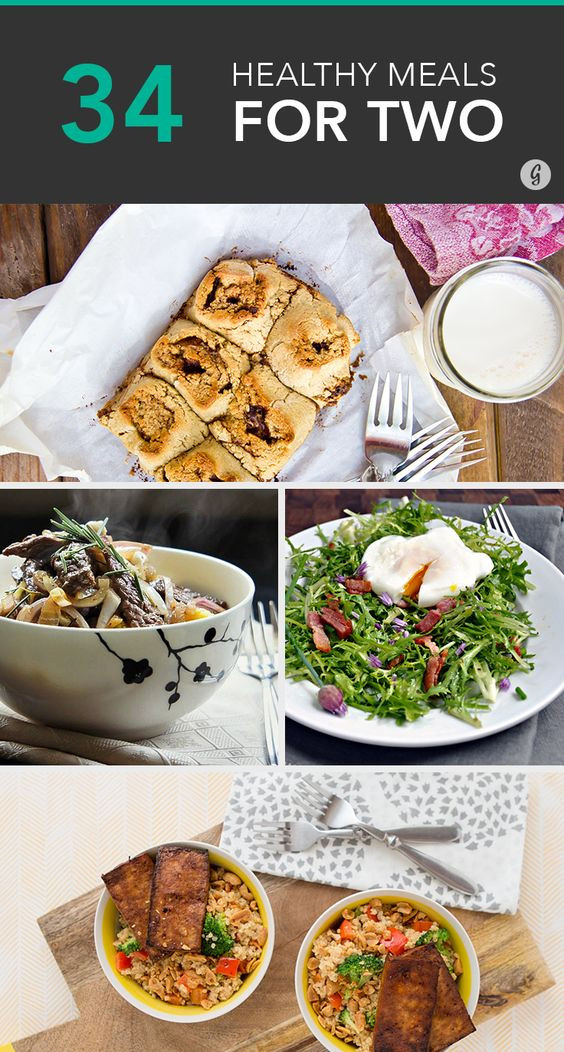Healthy Cooking For Two  Cooking for two Healthy meals and Meals on Pinterest