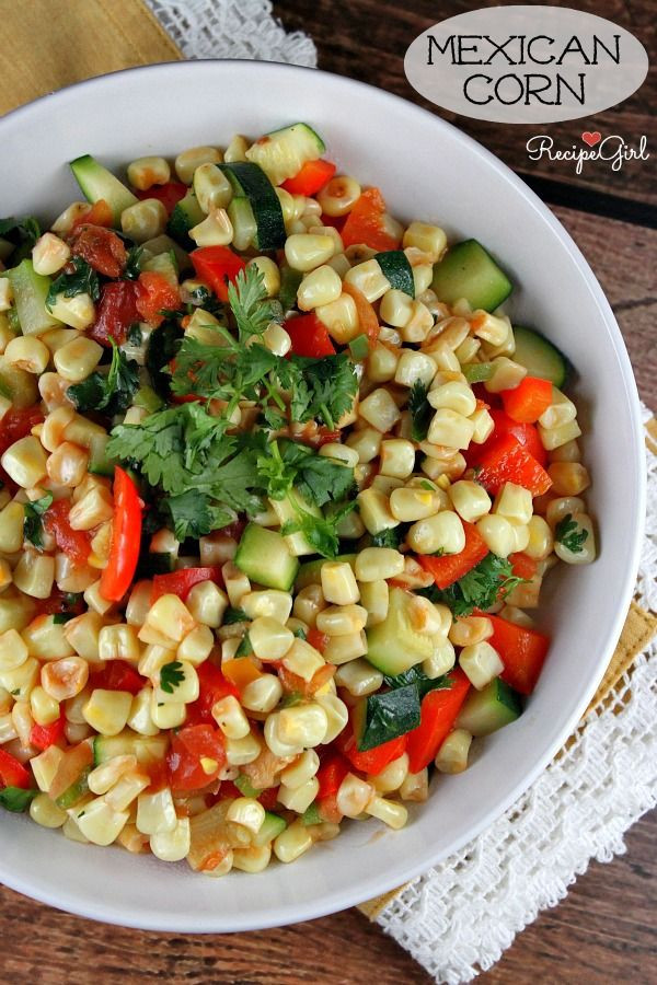 Healthy Corn Side Dishes  134 best images about My Tried & True Recipes on Pinterest