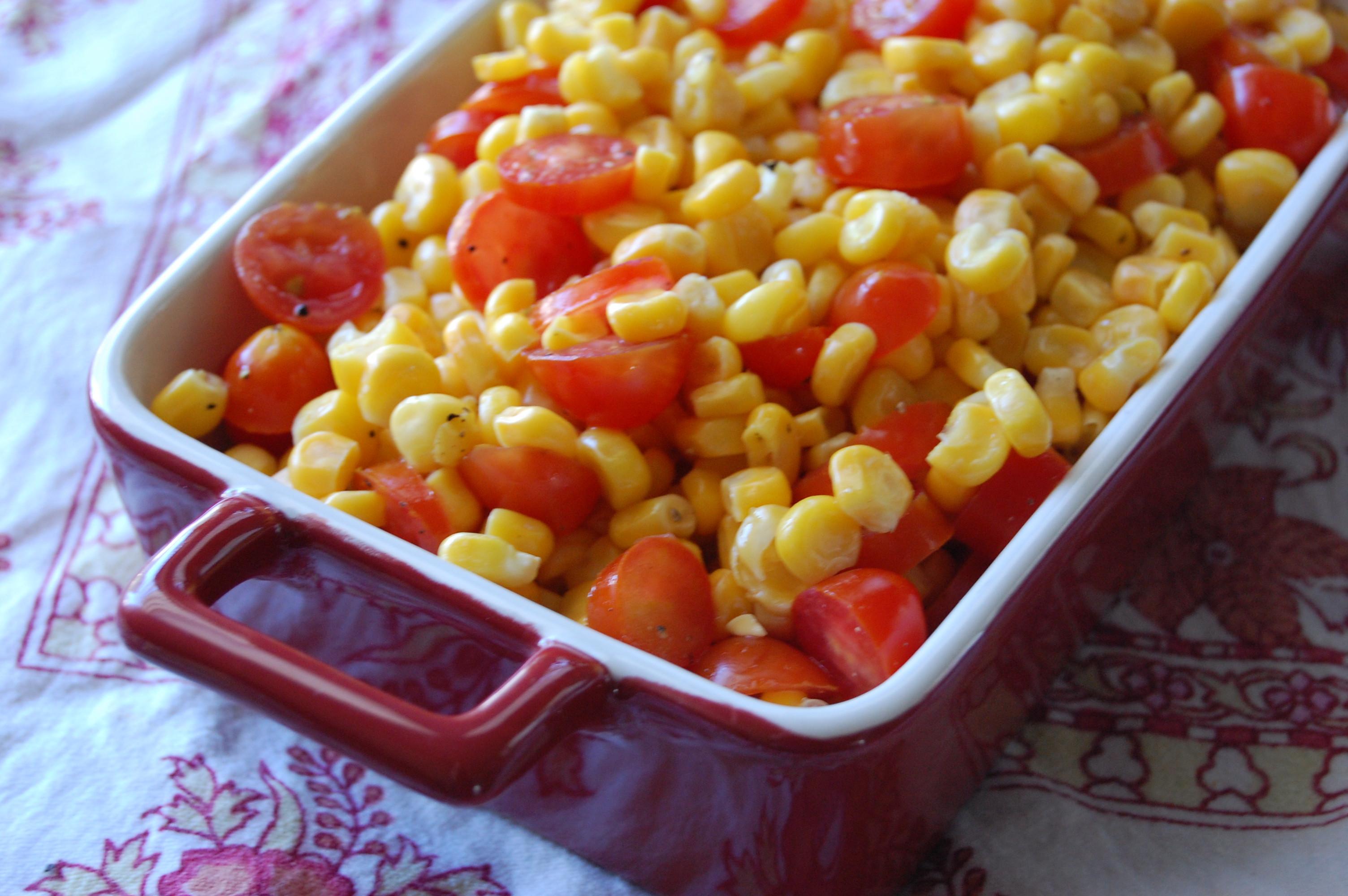 Healthy Corn Side Dishes  corn side dish