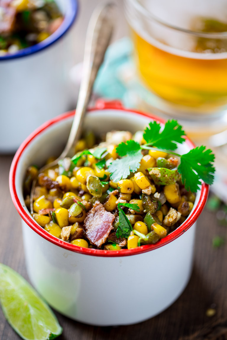 Healthy Corn Side Dishes  loaded mexican street corn saute Healthy Seasonal Recipes