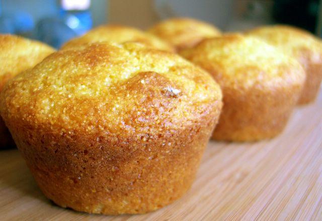 Healthy Cornbread Muffins  bakingsheet Healthy Cornbread Muffins