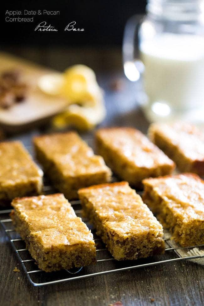 Healthy Cornbread Recipe  Healthy Cornbread Protein Bars