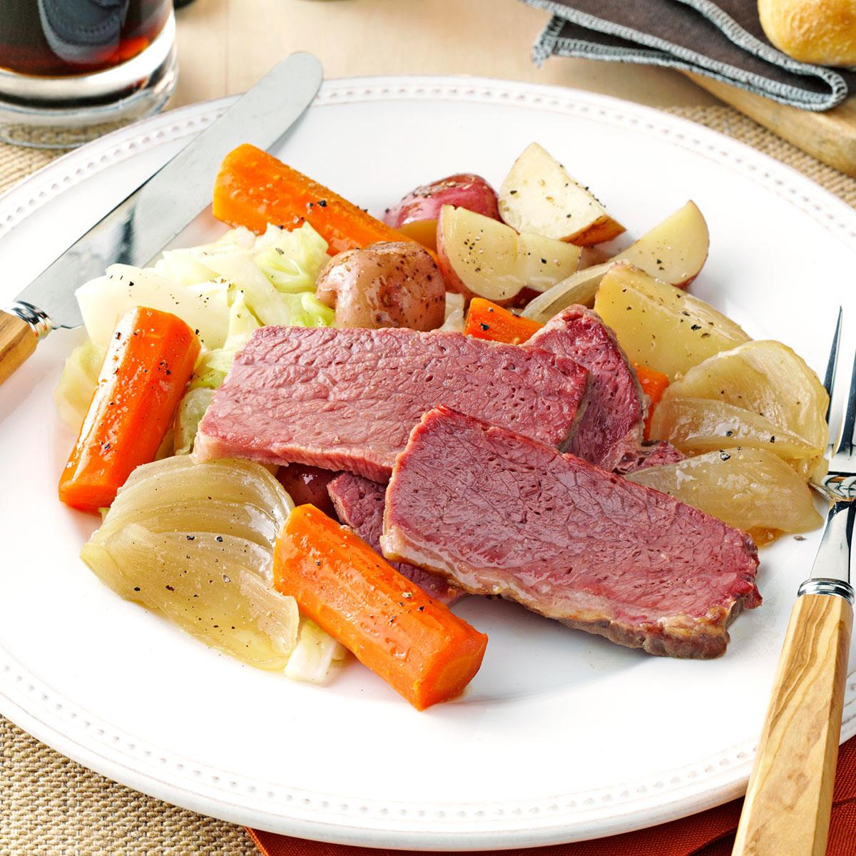 Healthy Corned Beef And Cabbage  Guinness Corned Beef and Cabbage Recipe