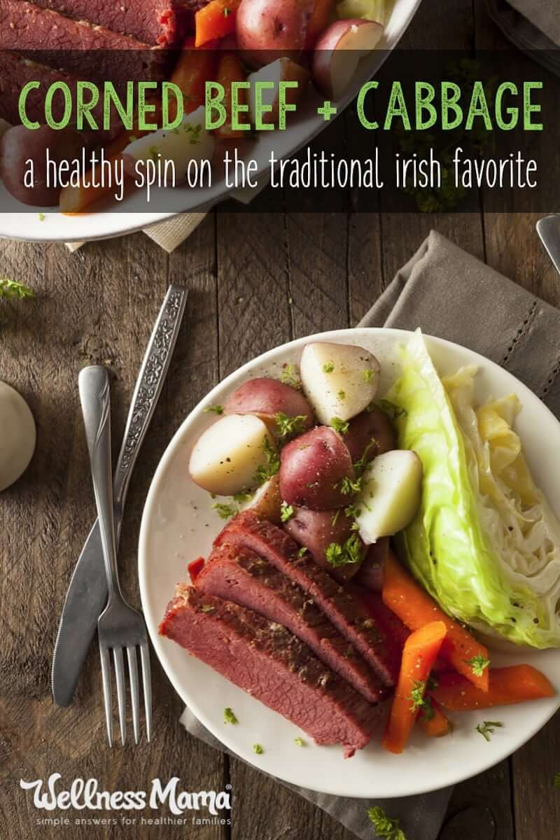 Healthy Corned Beef And Cabbage  Healthier Irish Corned Beef & Cabbage Recipe