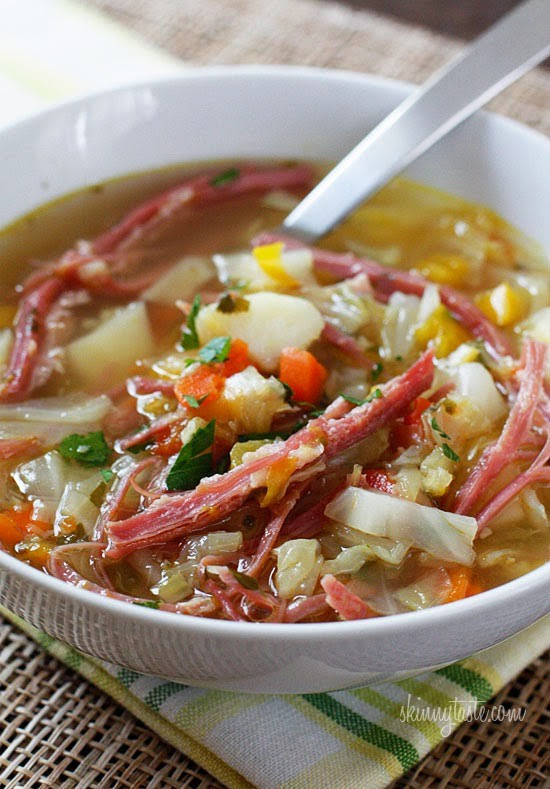 Healthy Corned Beef And Cabbage  50 Light and Healthy Soup Recipes